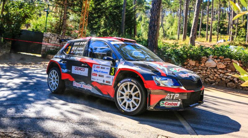 41ème Rallye du Liban 2018  Roger Féghali, vainqueur pour la 14ème fois